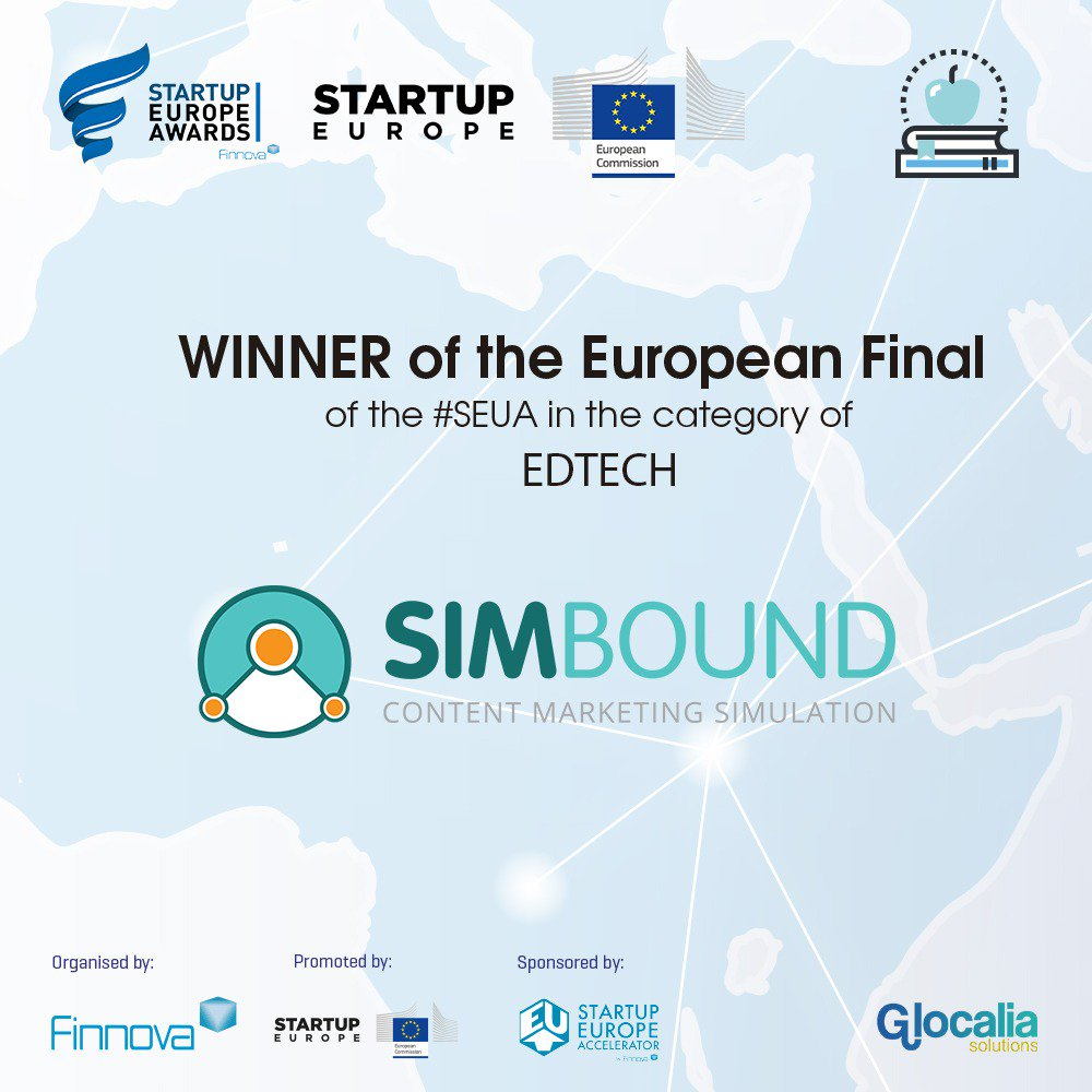 Simbound, start up Edtech primée !